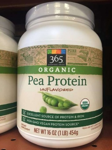 365 Pea Protein Powder