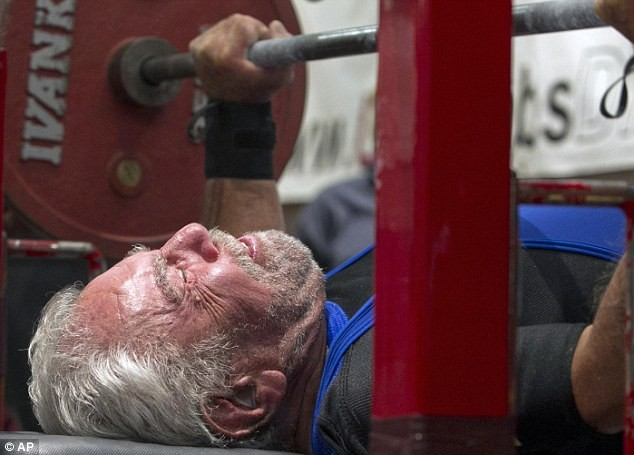 There really are no excuses. Senior citizens can bench more than I can :(
