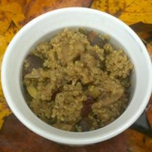 Quinoa Turkey Stuffing