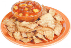 Bob's Fruit Salsa and Sweet Chips