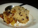 Rachel's Peach Apple Crumble