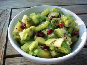 Pomegranate Kiwi Salsa
