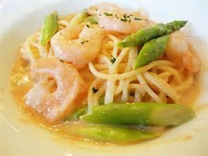 Shrimp, Asparagus and Penne Pasta